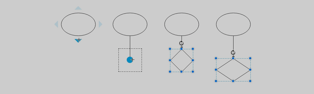 4 ways to connect shapes draw 4 ways to connect shapes ccuart Images