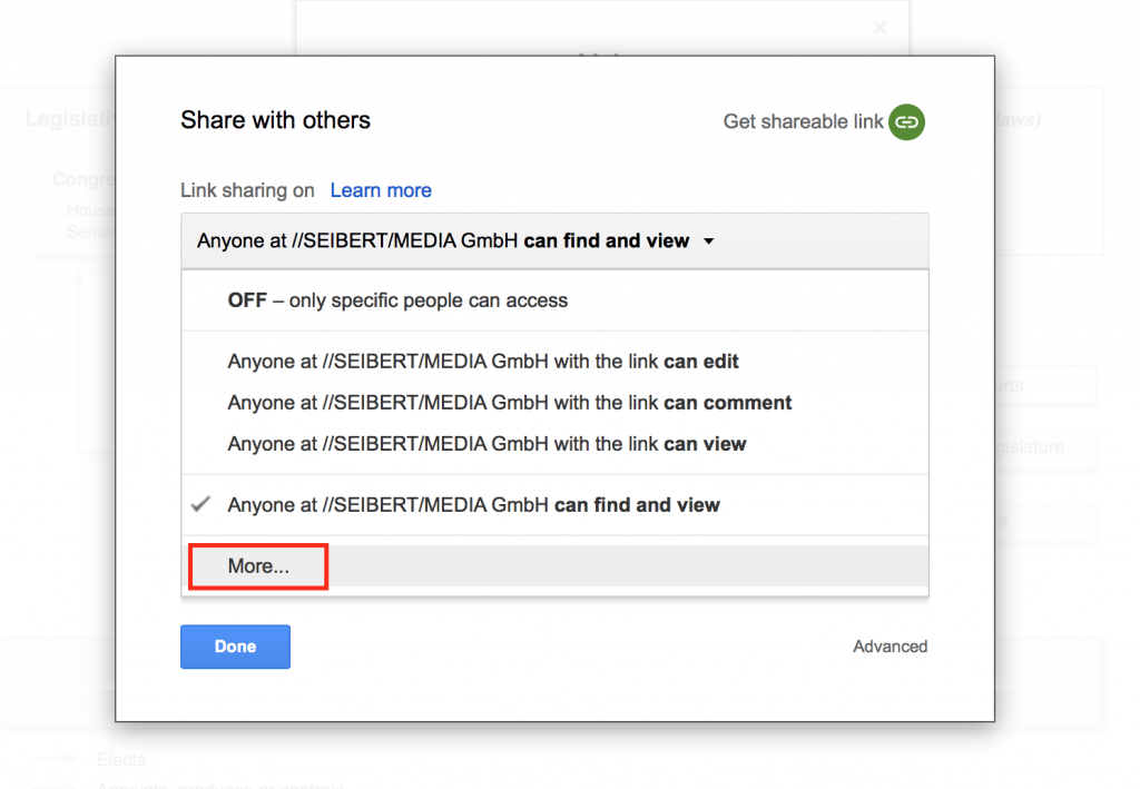 Share Diagrams With Public Google Files – draw io