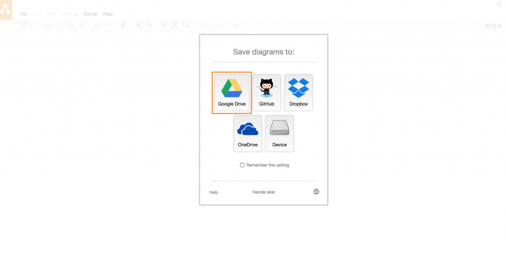draw.io - Google Team Drives