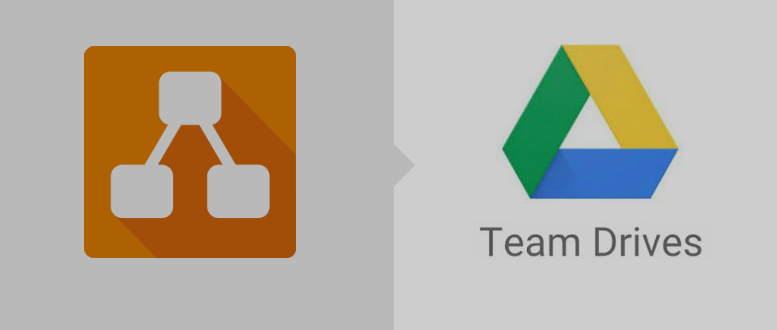 Does your company use Google Team Drives for business file sharing within the organization? Share your draw.io digramms with Google Drive.