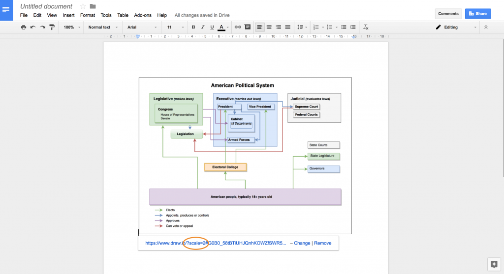 Google docs add on now supports high resolution images draw high resolution draw diagram in a google document ccuart Gallery
