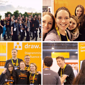 Draw.io team at Summit 2017