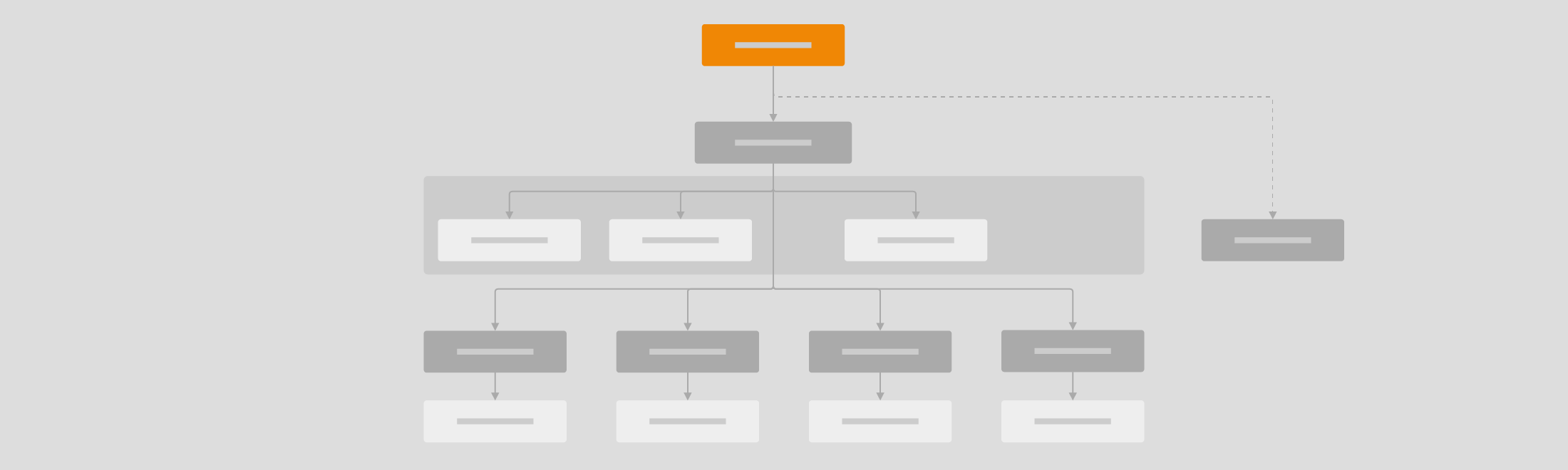 Work with tree diagrams like organization charts and mind maps in draw.io