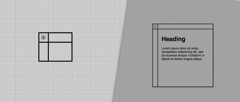 Learn how to create containers in draw.io
