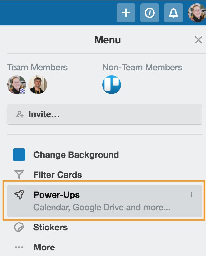 draw.io - Show Trello Power-Ups