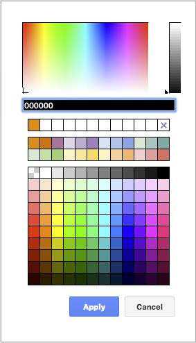 draw.io - customized color palette