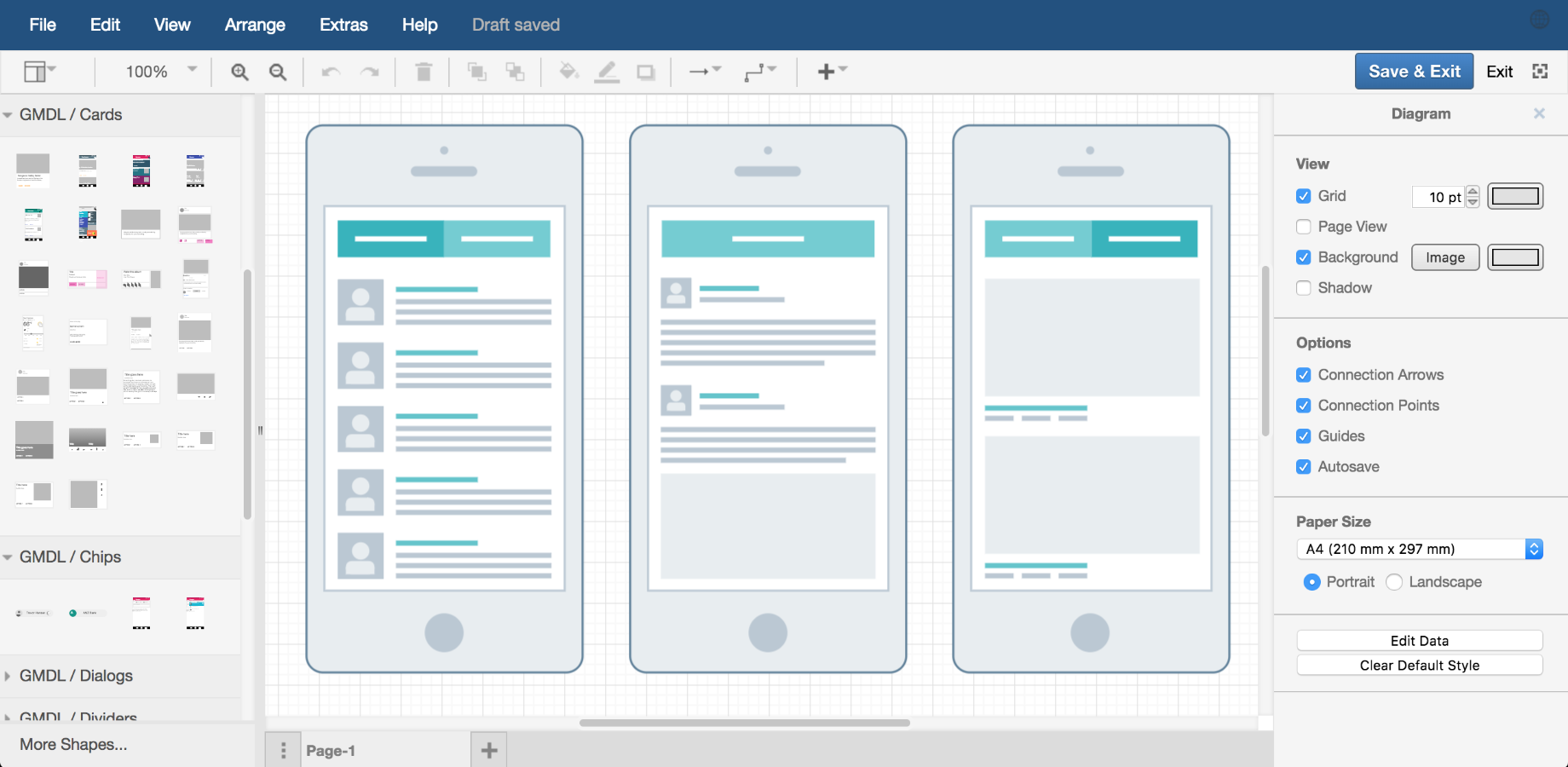 Examples draw in a similar way to wireframe models mockups are used to quickly prototype a user interface during application development these days they are most often ccuart Images