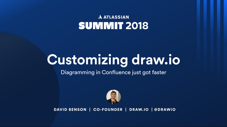 Customizing draw.io - Atlassian Summit Europe 2018 - presentation