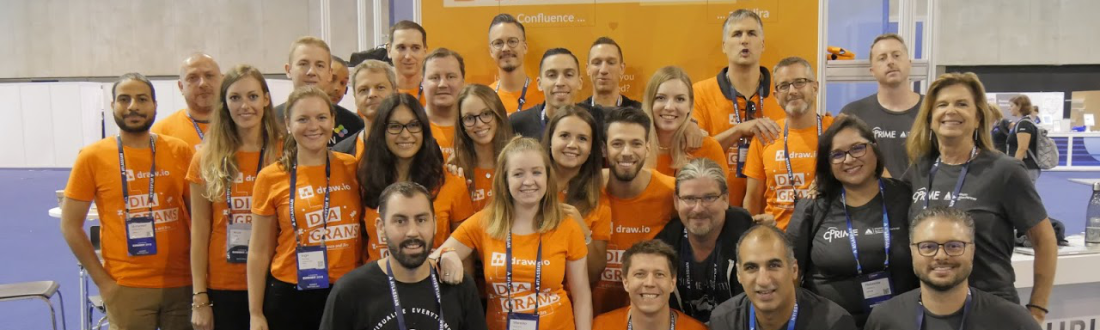 Atlassian European Summit 2018 with draw.io and cPrime