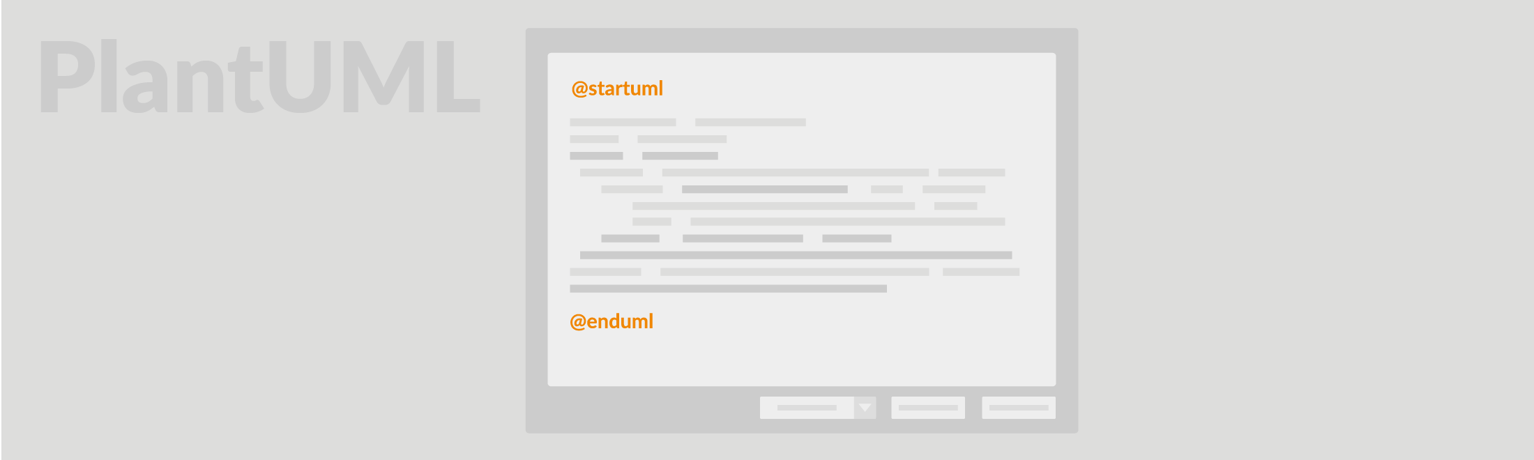 PlantUML is an open source tool where you can specify your UML diagrams in a text format, which looks quite similar to a simple programming language. It is often used by software developers and allows blind developers draw UML diagrams.