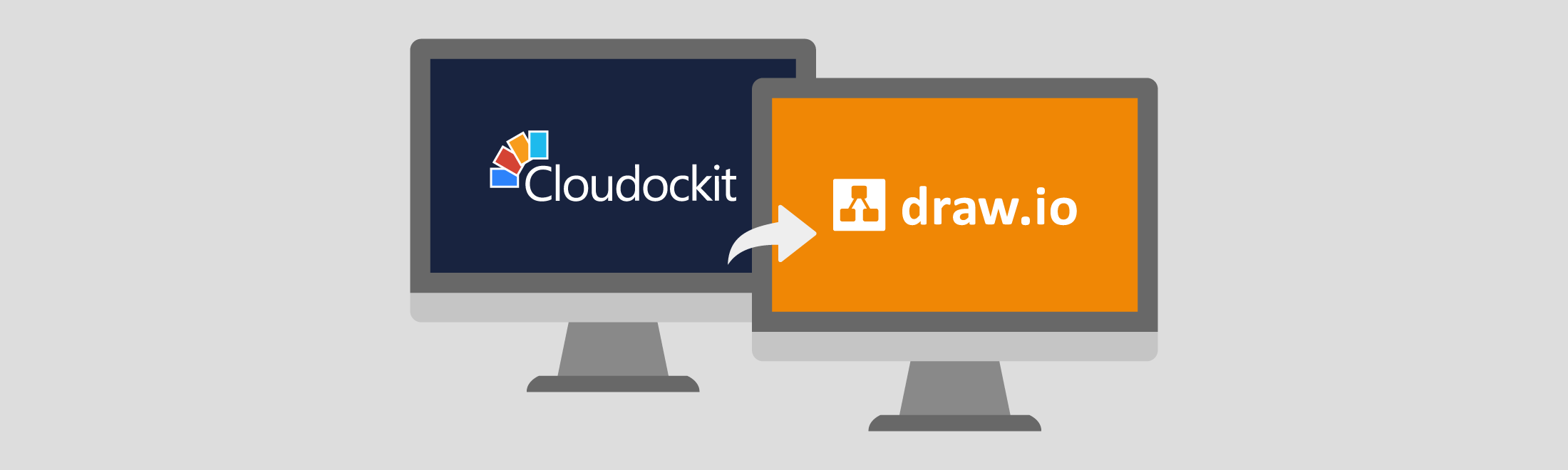 Export from Cloudockit to draw.io