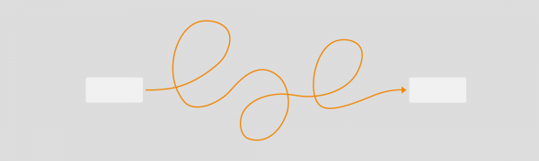 You could always add curved connectors to draw.io, but we've made it easier now to add extra curves and waypoints.