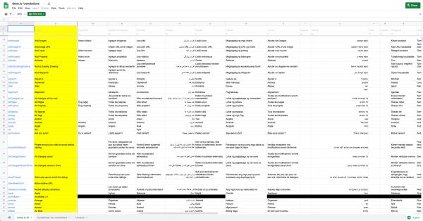 draw.io translations in a Google sheet