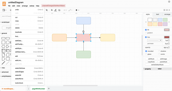 See where the strings appear in context in the draw.io interface as you translate