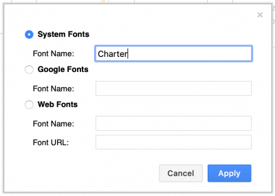 Use a different system font in draw.io