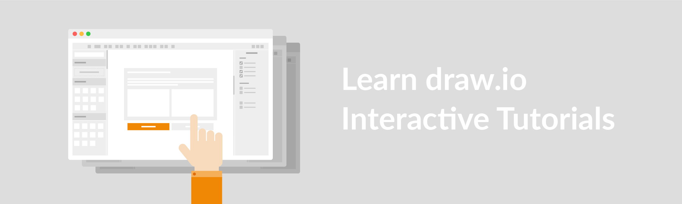 Learn to create a diagram in draw.io, within the diagram creation process itself.