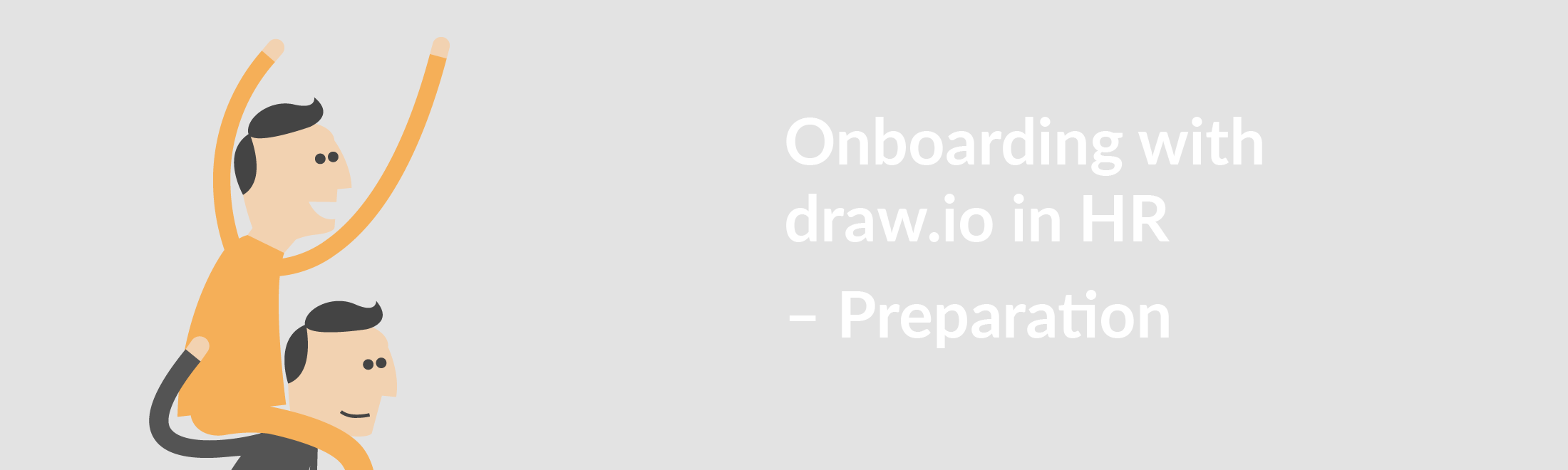 Better onboarding with draw.io in HR.