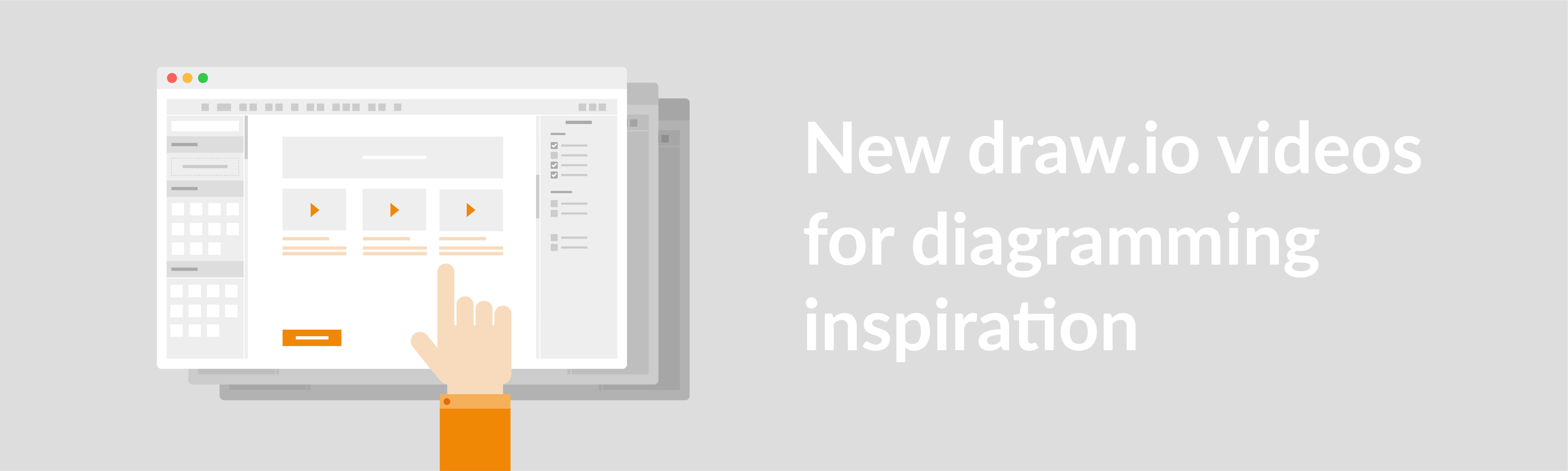New draw.io videos for diagramming inspiration.