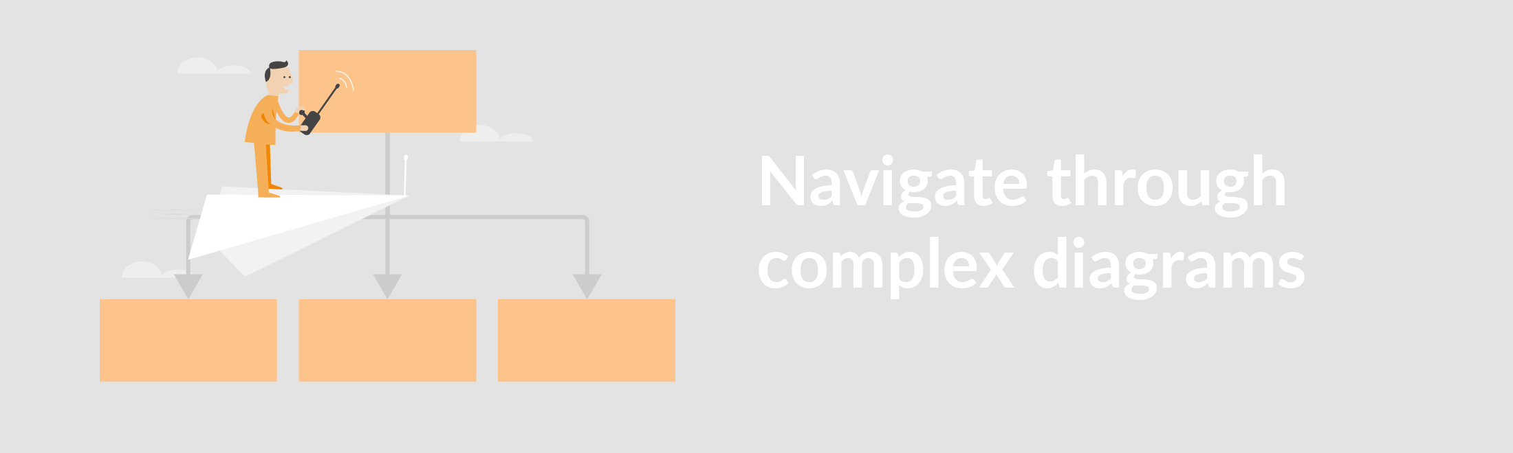 simplify diagram navigation