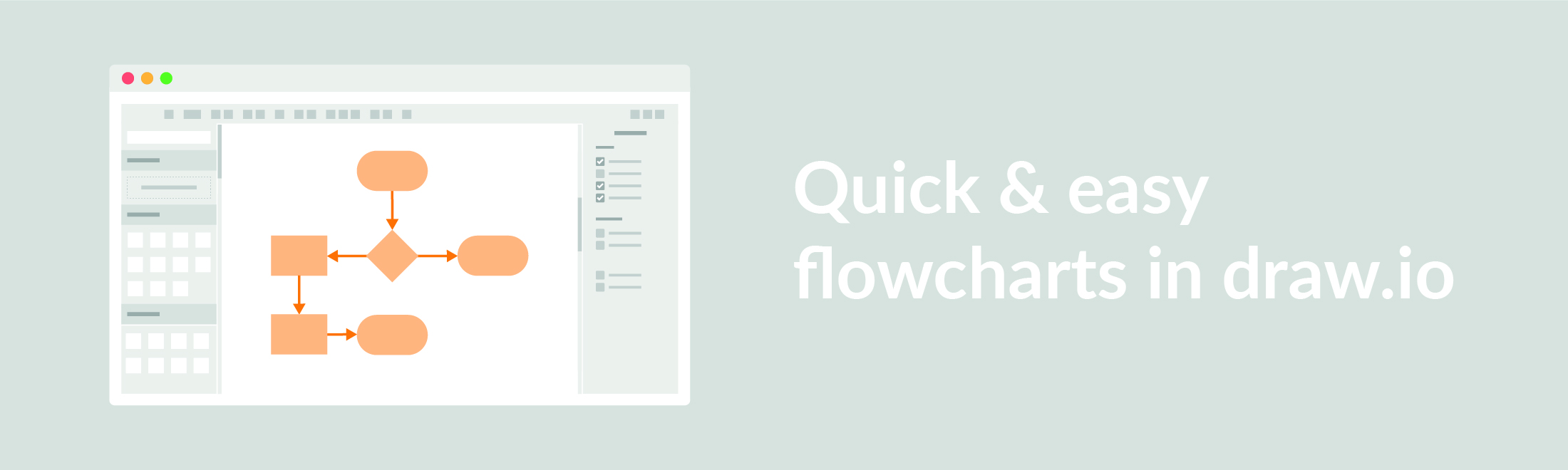 flowcharts in draw.io