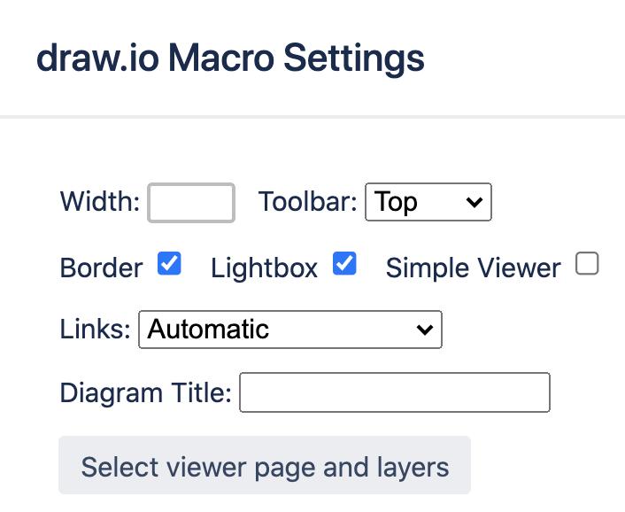 Edit macro settings in Confluence Server