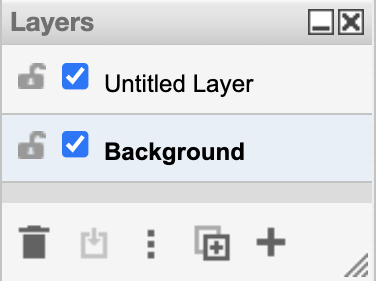 Add another layer in draw.io