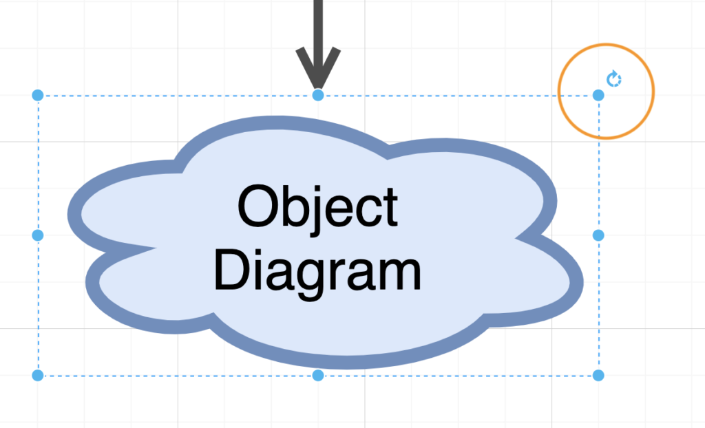 Rotate shapes in draw.io